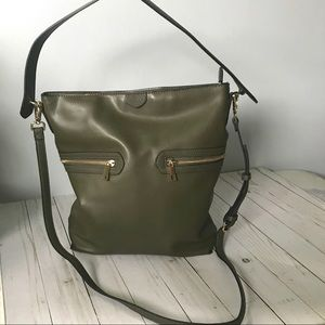 A New Day olive green bag